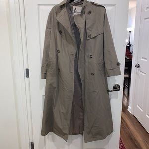 Vintage Misty Harbor Trench Coat